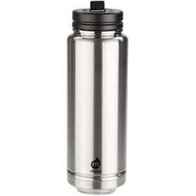 MIZU 360 V12 Drinkfles 1200ml with Stainless&Straw Lid zwart